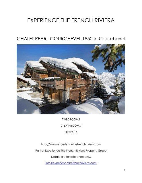 Chalet Pearl Courchevel 1850 - Courchevel