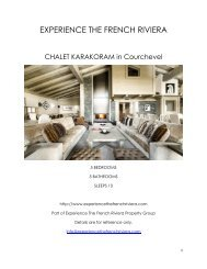 Chalet Karakoram - Courchevel