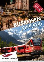 Komet Busreisen Herbst-Winter Folder