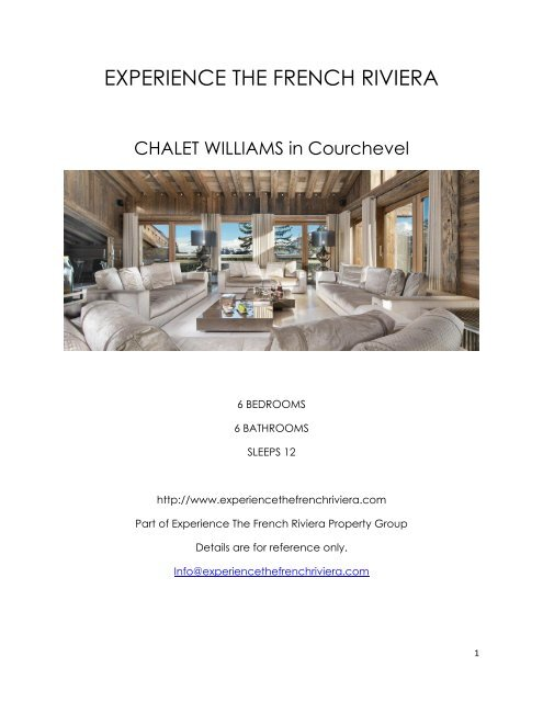 Chalet Williams - Courchevel