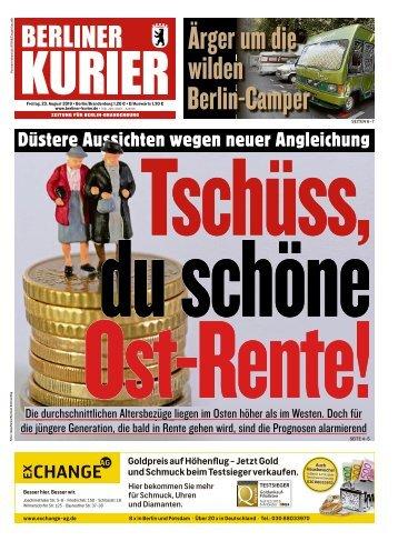 Berliner Kurier 23.08.2019