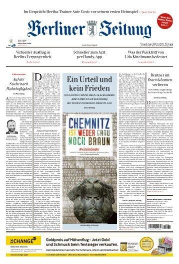 Berliner Zeitung 23.08.2019