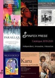 Spinifex Press 2019-2020 Catalogue