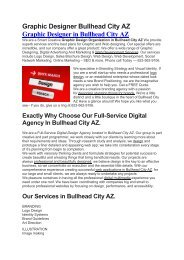 Aku Graphic Designer Bullhead City AZ   623-562-9106