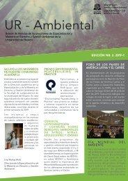 Boletín de Noticias - UR Ambiental 2019-2