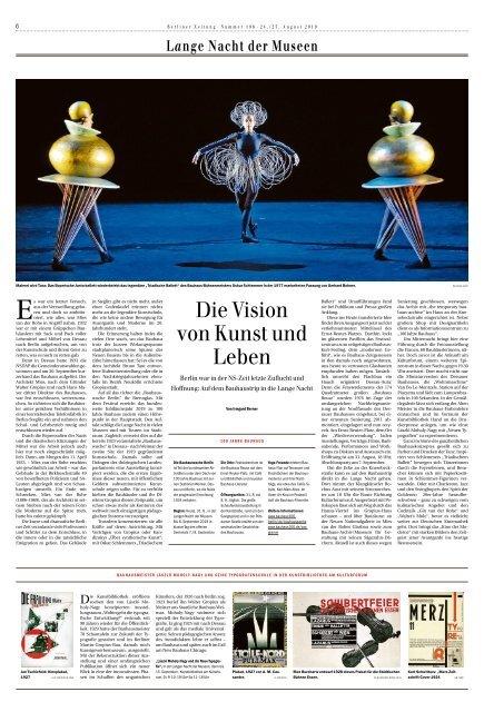 Berliner Zeitung 24.08.2019