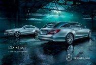 Broschüre des CLS herunterladen (PDF) - Mercedes-Benz Schweiz