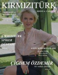 KırmızıTürk Medya Caddesi Ağustos 2019 Sayı 13