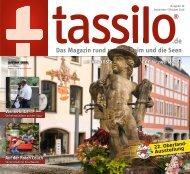 Tassilo, Ausgabe September/Oktober 2019 - Das Magazin rund um Weilheim und die Seen