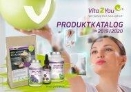 Vita2You Produktkatalog 2019/20