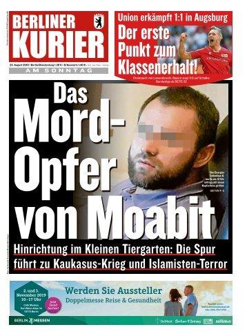 Berliner Kurier 25.08.2019