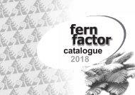 Fern Factor - Catalogue 2018