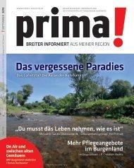 prima! Magazin - Ausgabe September 2019