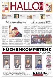 Hallo-Allgäu Memmingen vom Samstag, 24.August