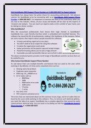 QuickBooks 2020 Support Phone Number +1-844-200-2627