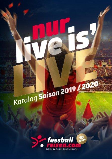 fussballreisen.com Reisekatalog 2019/20