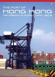 The Port of Hong Kong Handbook & Directory 2019