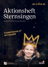 Aktionsheft Sternsingeraktion 2020