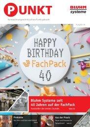 Bluhm Systeme PUNKT Magazin FachPack-Sonderausgabe 58