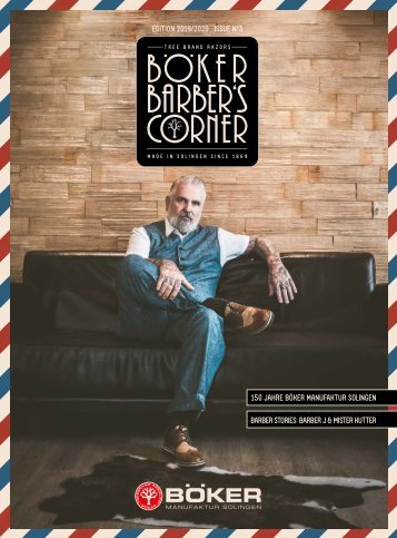 Böker Barber's Corner    Edition 2019 / 2020