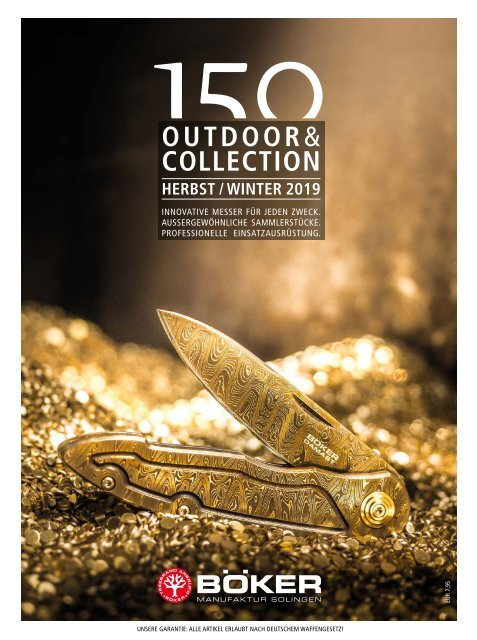Böker Outdoor und Collection | Herbst / Winter 2019
