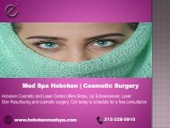 Med Spa Hoboken Cosmetic Surgery