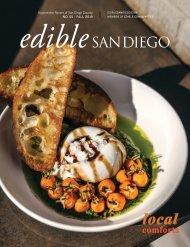 Edible San Diego Issue #55 Fall 2019