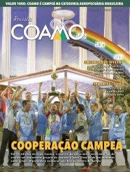 Revista Coamo Edição de Agosto de 2019