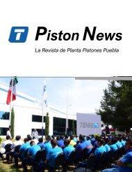 Piston News La Revista de Planta Pistones Puebla