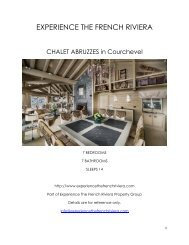 Chalet Abruzzes - Courchevel