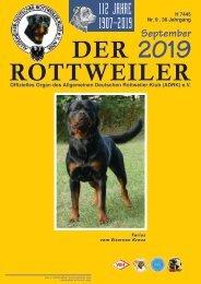 Der Rottweiler - Ausgabe September 2019