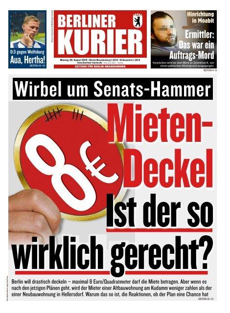 Berliner Kurier 26.08.2019