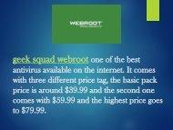 webroot com safe