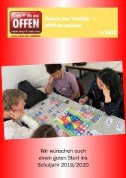 Schule der Vielfalt NRW-Rundbrief 2-2019 Sommer/Herbst