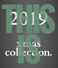 Xmas Collection 2019 - Catalogue
