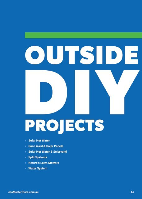 The DIY Energy Efficient Home Project Magazine By EcoMaster