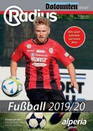 Radius Fussball 2019