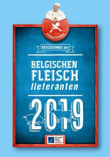 Belgian Meat Office - Meat News 2/2019