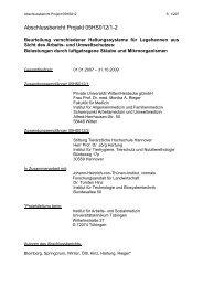 Abschlussbericht Projekt 05HS012/1-2 - BLE