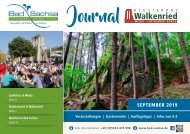 Gästejournal BadSachsa/Walkenried September2019