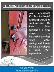 Locksmith Jacksonville FL