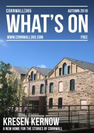 Cornwall 365 What's On | Autumn 2019