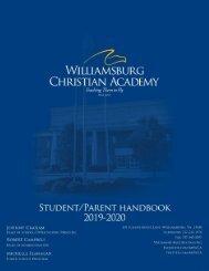 2019 Student Parent Handbook- FINAL 8-26