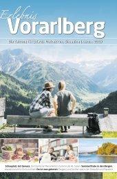 Erlebnis Vorarlberg August 2019
