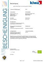 Alnatura Biobescheinigung bis Januar 2021
