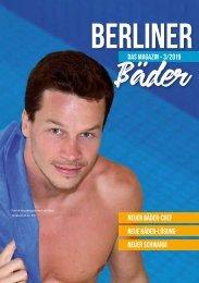 Das Kunden Magazin der Berliner Bäder - Ausgabe 03/2019