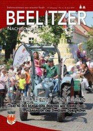Beelitzer Nachrichten - Juli 2019