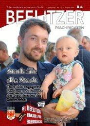 Beelitzer Nachrichten - August 2019