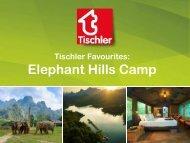 Tischler_Favourites Thailand - Elephant Hills