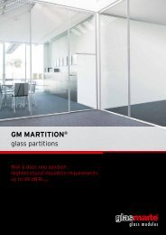 GM MARTITION – Product Report